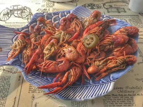 Boiled crawfish 🦞