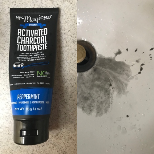 Magic Mud Charcoal Toothpaste