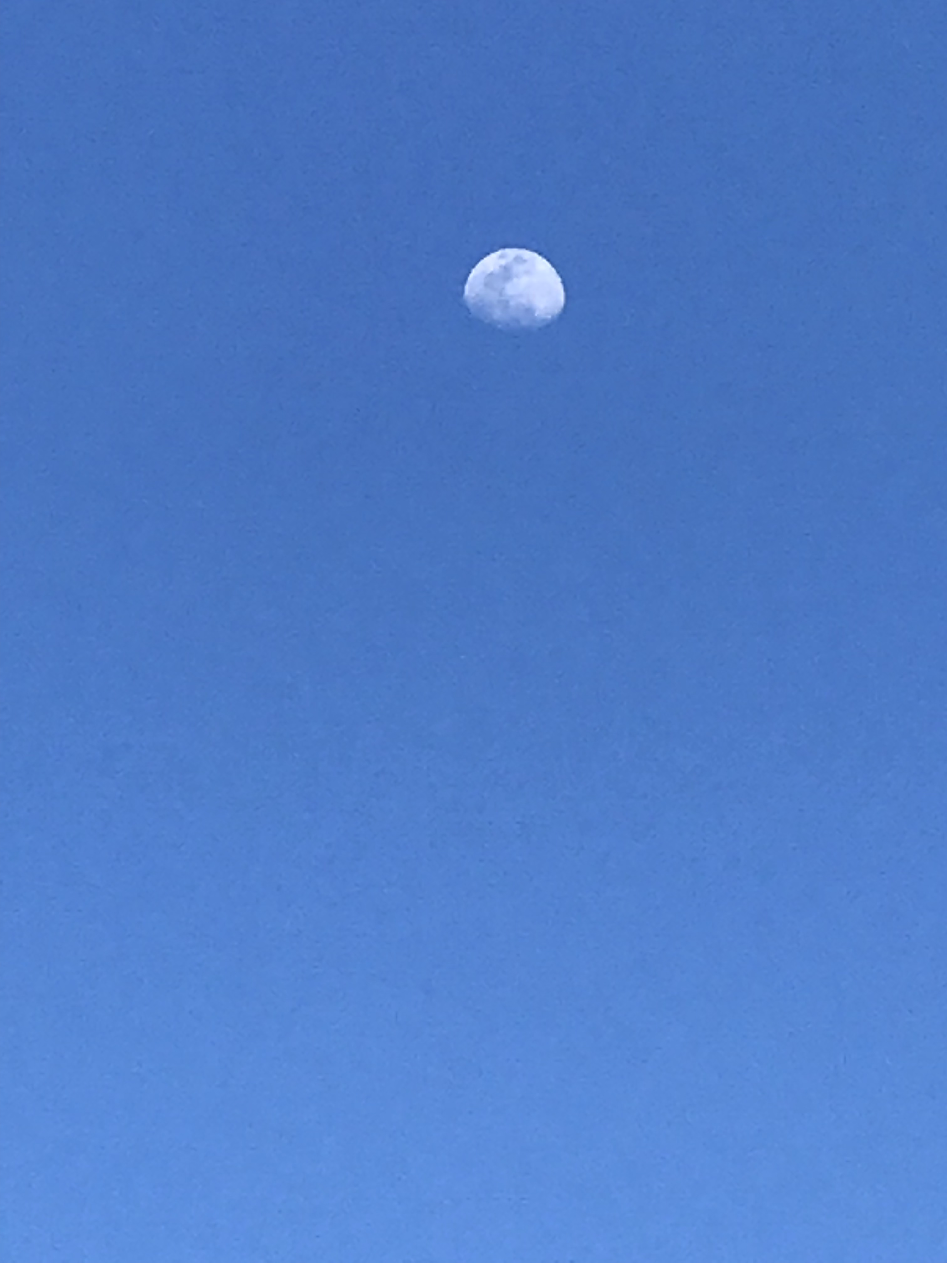 A pixelated moon over Atmore AL.