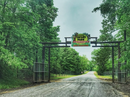Alabama Safari Park entrance