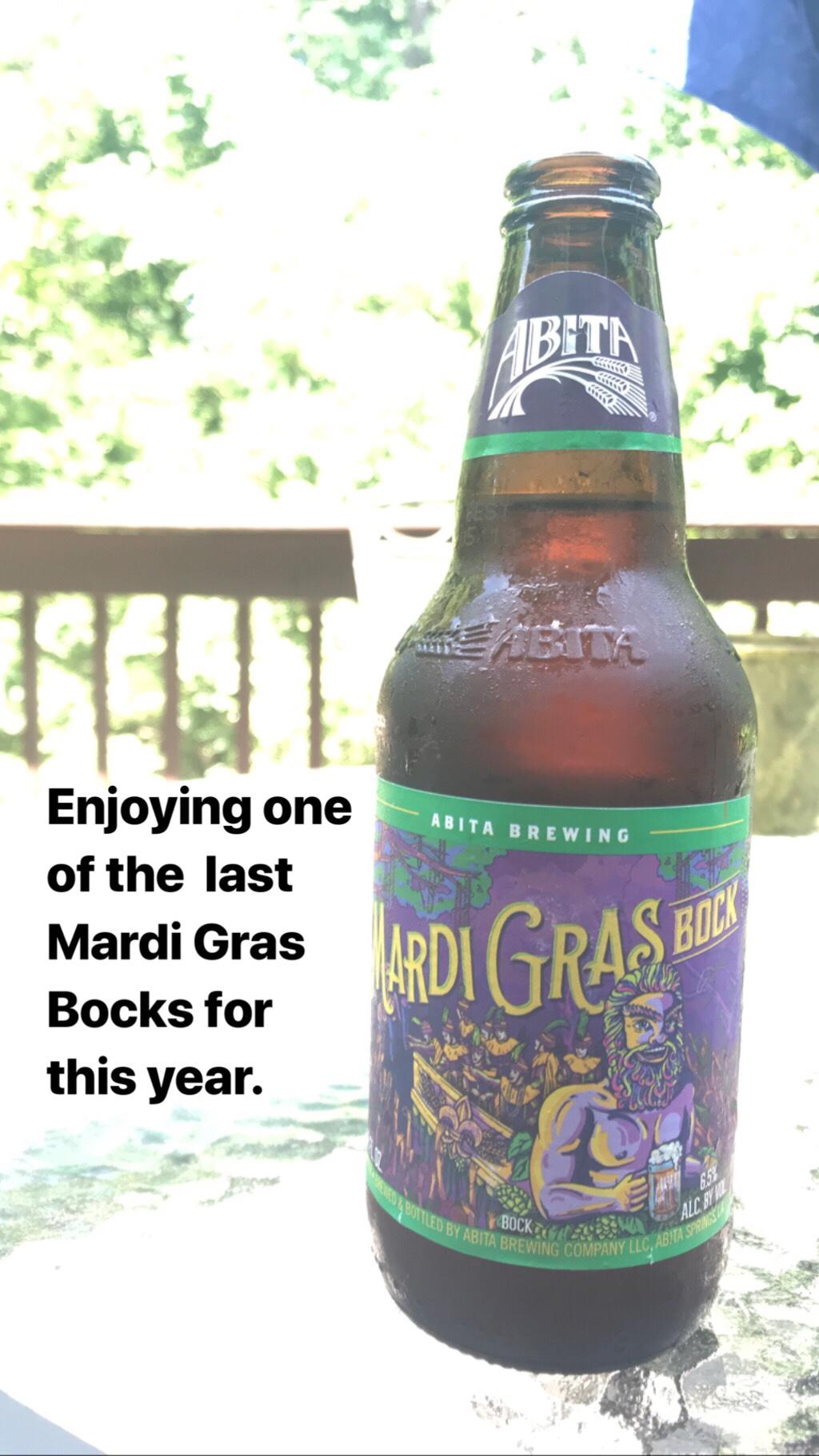 Mardi Gras Bock beer