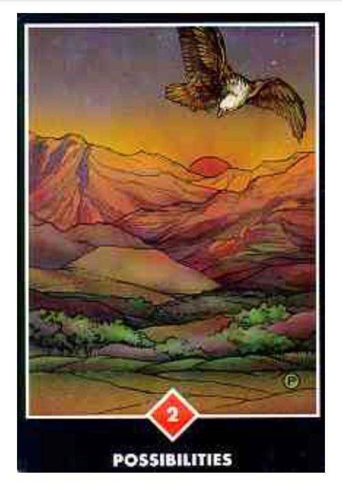Osho Zen Tarot Possibilities Card