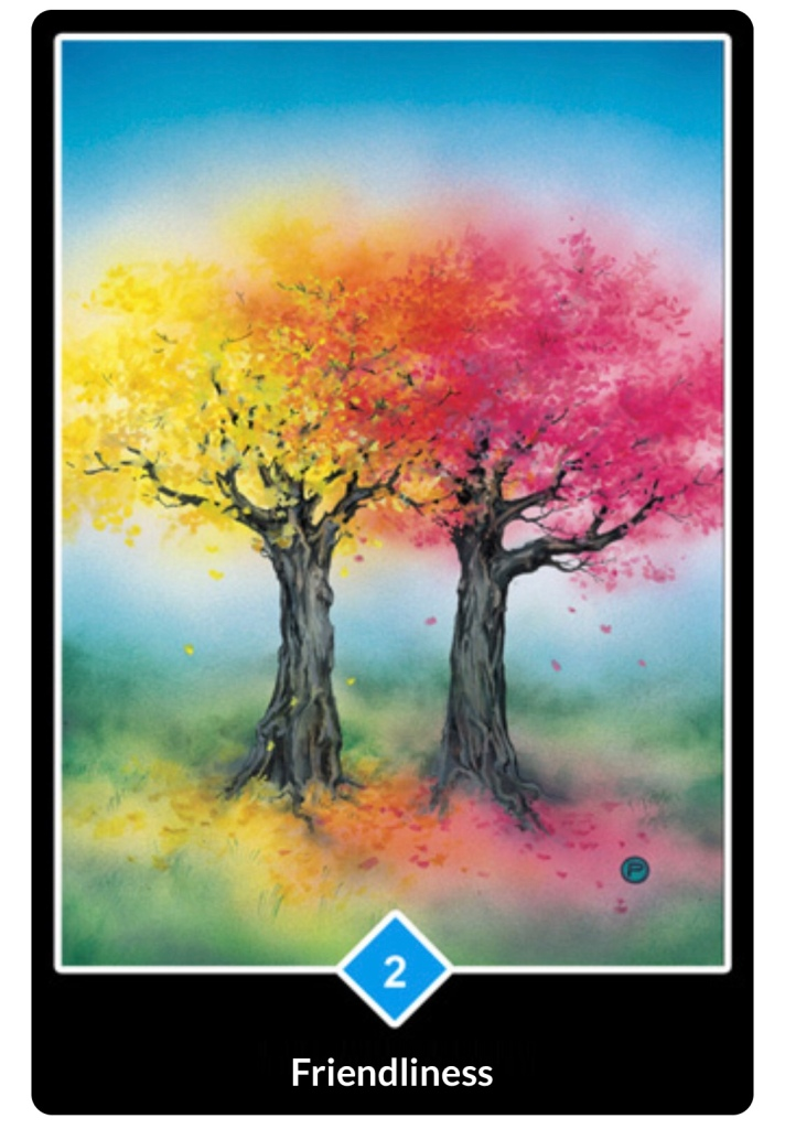 Osho Tarot, Friendliness